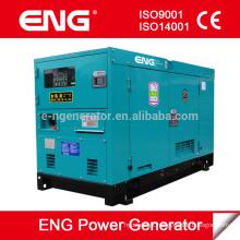 China engine Quanchai generator 15kva gerador à prova de som baixo ruído super silencioso