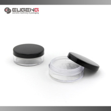 Round loose powder case with sifter
