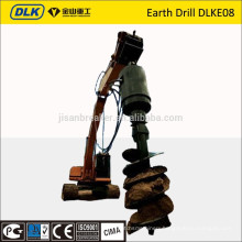 for 6-8 ton excavator earth drill DLKE08
