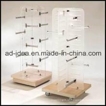 Drehbare Kleiderschränke aus Holz / Kleiderständer Präsentationsständer / Kleiderständer