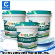 Dupla componente água baseada pu membrana líquida