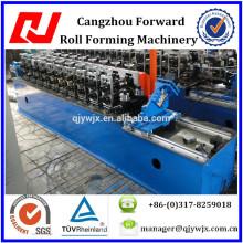 Rolo galvanizado automático do calibre da luz do perfil do fardo do metal que forma a máquina