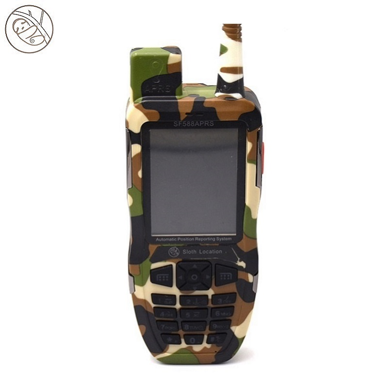 Interfono per walkie-talkie a 2 vie GPS UHF 9KM
