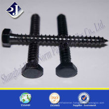 black with TS16949 ISO9001 DIN571 wood screw