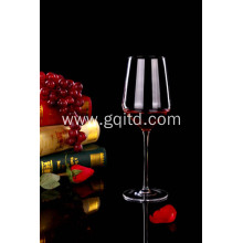 Lead free high end crystal red wine glass