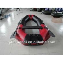 pequeno barco inflável de deriva HH-F265 remar caiaque barco