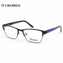 lunettes optique, Tai zhou vente chaude lunettes optiques en métal mens personnalisé