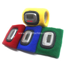 Customized Woven Wristband Pedometers With Logo Printed