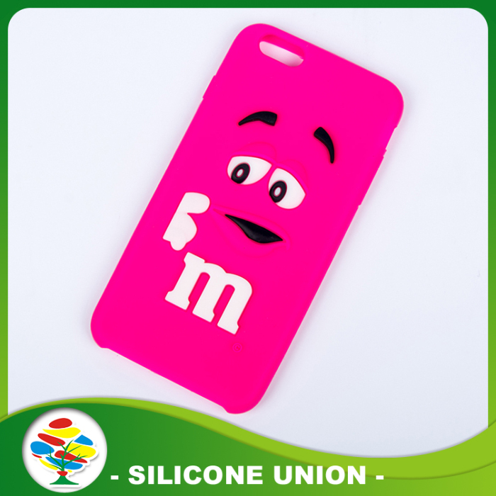 Pink Waterproof Silicone Cellphone Case
