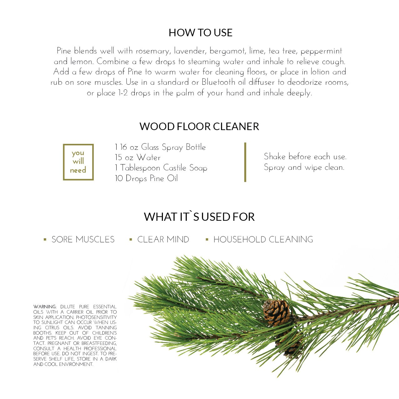 Pine needle oil5