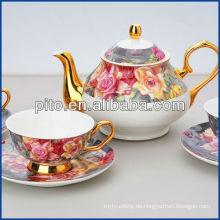 Knochen Porzellan Tee-Set mit elegantem Design