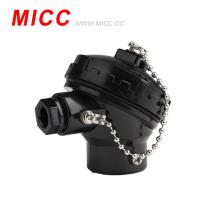 Cabezal de termopar de diferentes tipos MICC / bloque de terminales de cerámica y baquelita