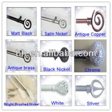 non-rust curtain rod,rustic curtain rod