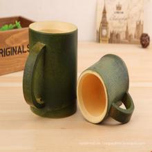 Taza de madera al por mayor de bambú respetuosa del medio ambiente de las tazas de té
