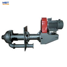 China agitator vertical sump slurry pump