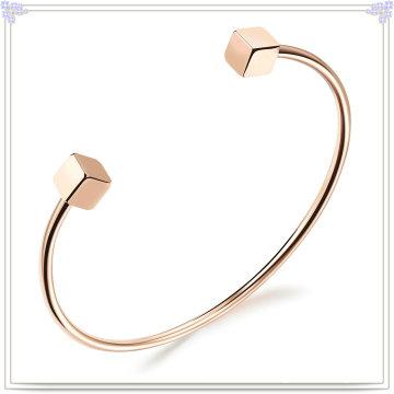 Bracelet en acier inoxydable à crémaillère design (BR347)