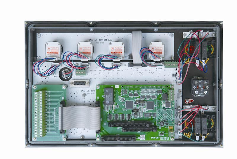 Cnc Machine Control Mc Panel Mk Jzjm 4 Back Side