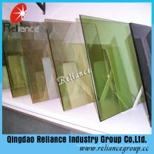 6mm Bronze Bronze One Way Glass com Certificado Ce