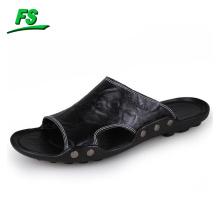 2018 dernières nouvelles conceptions en cuir chaussure de sandale