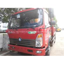 FAW 4160mm Camión grúa de transporte entre ejes