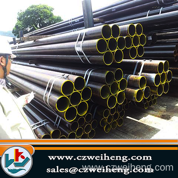 "6"" Schedule 40 ASTM A53 A106 Grade B Black Carbon Seamless Steel Pipe 6"" Schedule 40 ASTM A53 A106 Grade B"