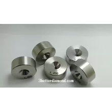 Flat pressure wire drawing dies PCD/ND wire drawing die for copper wire