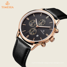 Black Multifunction Chronograph Mens Watches Stopwatch 72483