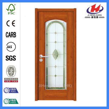 *JHK-G02 Interior Glass Doors Lowes Glass Wooden Doors Stained Glass Doors
