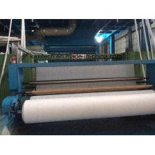 Linha de produção de tecido não tecido