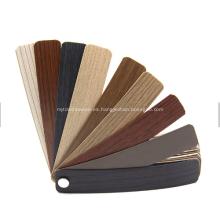 Venta caliente de bandas de borde de PVC para muebles / mesa de madera contrachapada