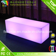 LED Outdoor Light Cube Bar Chair / Meubles de jardin