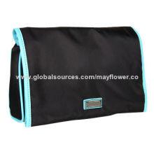 PU Clutch Handbag, Asymmetrical Magnetic Flap Closure, 10-inch Bottom WidthNew