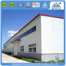 Cheap modular C type purlin prefab factory building