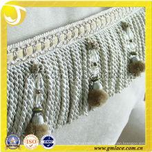 European Style Classic Lace Fringe Vorhang Zubehör Dekorative Fransen Trim