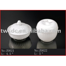 Vajilla de cerámica humeante olla de sopa (Z0021/Z0022)