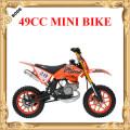 49 cc gas mini dirt bike, mini motorbike for Kids