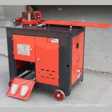 Barre d'acier de machines de construction cintrant la machine à arceau