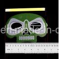Máscara de caveira de fulgor de dia das bruxas (kld5155)