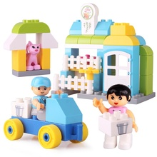 Colorful Shapes Building Blocks Intelligence Toys Bricks