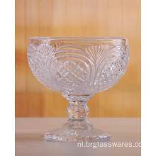 Prachtig Crafted Crystal Glass Ice Cream Bowls