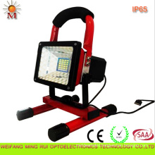 10W Portable Rechargeable Automotive Caution LED Flood Light with CE/RoHS