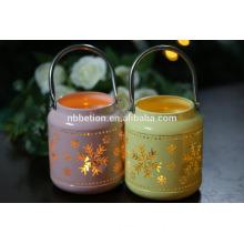 Chrismas decorative metal candle lantern metal lantern Metal Candle Holder Lantern