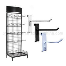 Grid Wall Hooks Wire Mesh Steel Gridwall Panel Stand Display Rack