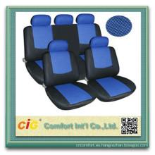Barato precio competitivo polyeaster azul fundas de asiento de coche