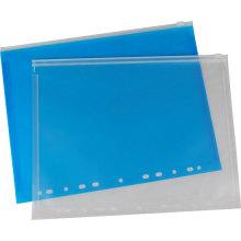 Bolsa para archivos con cremallera de 11 agujeros PP