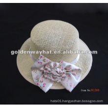 Fashion and elegant lady decoration straw hat
