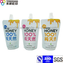 Honey Stand up Pouch with Spout