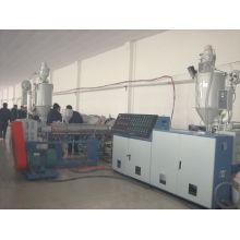 Pipa de agua y gas de PPR PE, línea de extrusión