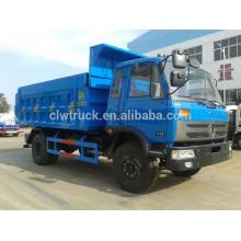 2015 Dongfeng camión de basura para la venta, 4x2 China camiones de basura