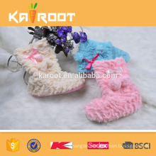 long fancy low price warm suede boots for women